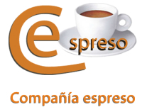 Compañía espreso. El café para su oficina.